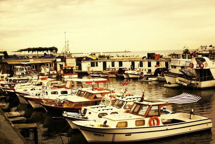 Sea Taking Photos Boats Istanbul The Bosphorus Ferry