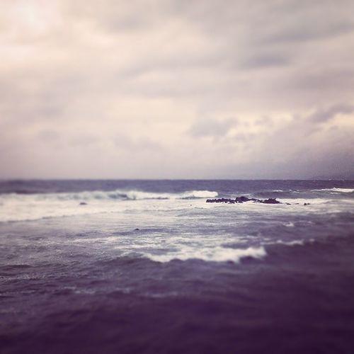 Helga tilbringes på hytta hos mormor og morfar :) Kosoghygge Tür Jølle Lista værogvind hav sjø bølger loveit ocean