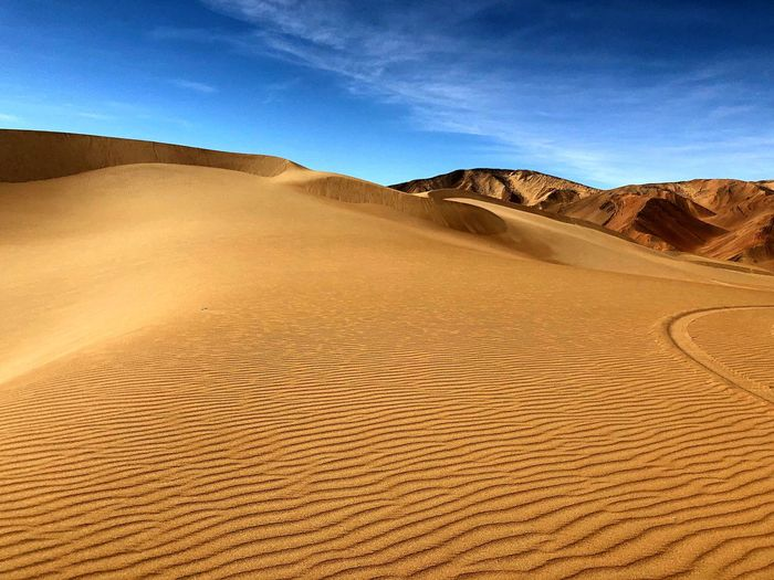 Desierto de chile Land Sand Scenics - Nature Desert Landscape Sky Environment Climate Tranquility Day No People