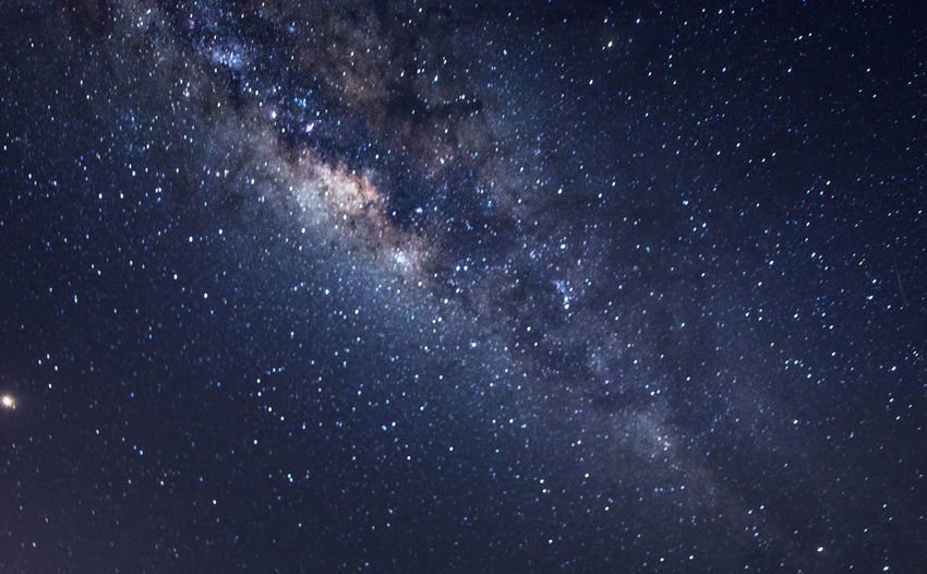 milky way during clear night sky. Space Astronomy Star - Space Night Galaxy Sky Scenics - Nature Beauty In Nature Nature No People Milky Way Star Star Field Backgrounds Outdoors Tranquility Exploration Dark Constellation Low Angle View