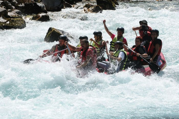 Tara Canyon Tara River Beauty In Nature Raftingtime Rafting My Hobby My Favorit Sport... Adventure Enjoyment Adrenalin Sport Extreme Sports Courage Challenge Friendship Teamwork Lifestyles Montenegro🌊💙👈