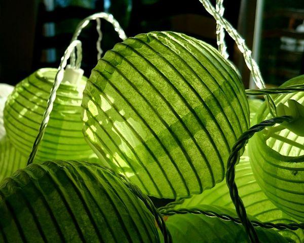 Paper Lanterns Green Lantern