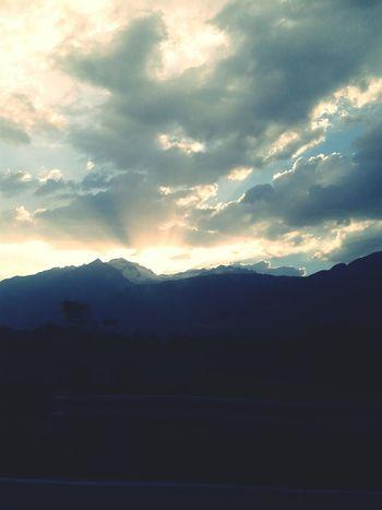 Montain  Sky