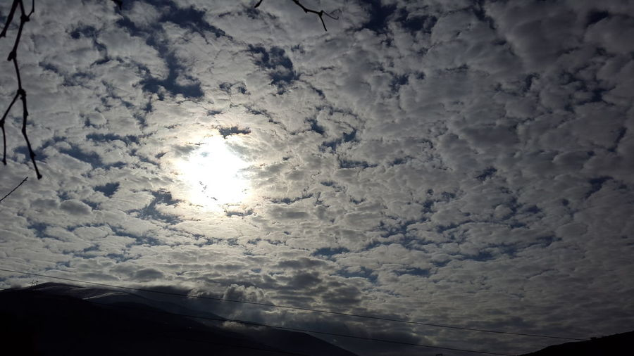 Beautiful Sky Cloud Covered Cloudy Sky Clouds And Sky Cloud Covered Sun Blue And White