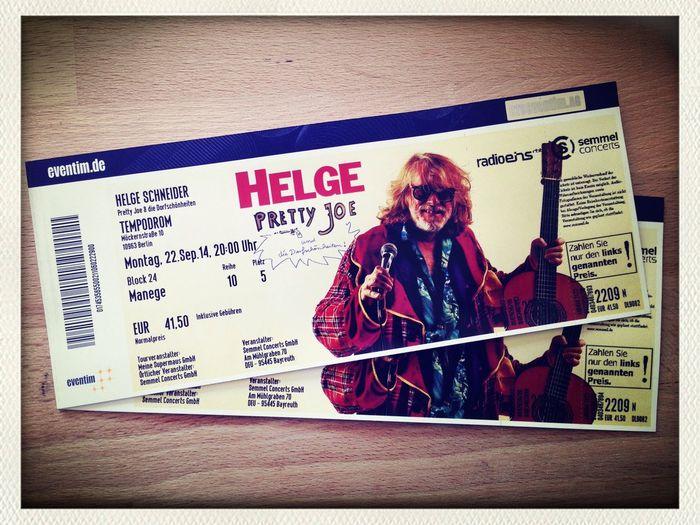 Helge Concert Tickets