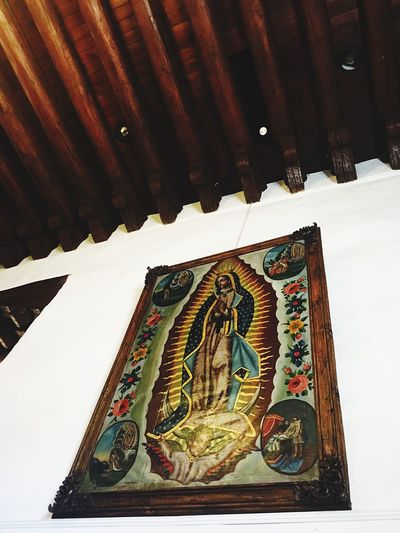 Our Lady Of Guadalupe Santa Fe New Mexico Santa Fe Catholic Spanish Culture Southwest  Church Religion Religious  Religious Art Religious Icons Icon Guadalupe Nuestra Señora De Guadalupe Catholic Church