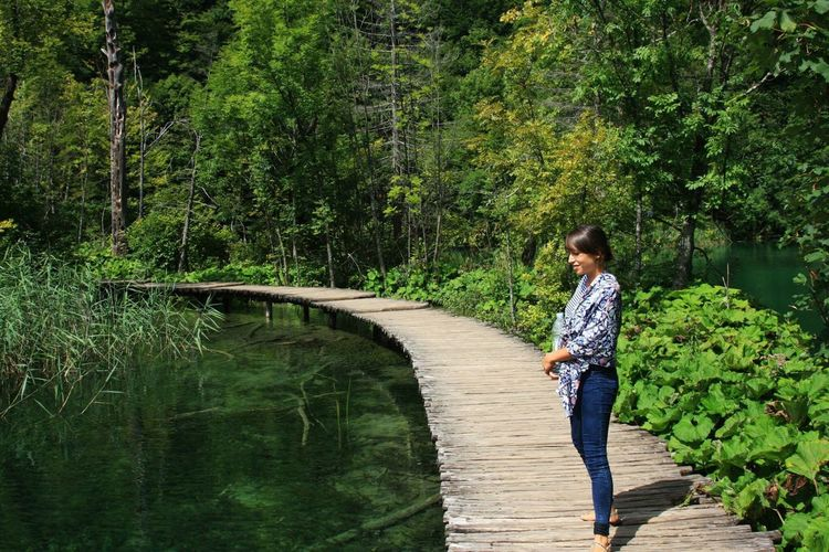Plitvice National Park Naturelovers Happiness Moments Beautiful Nature Life Nature_collection Croatia Green Lush Colors Nature