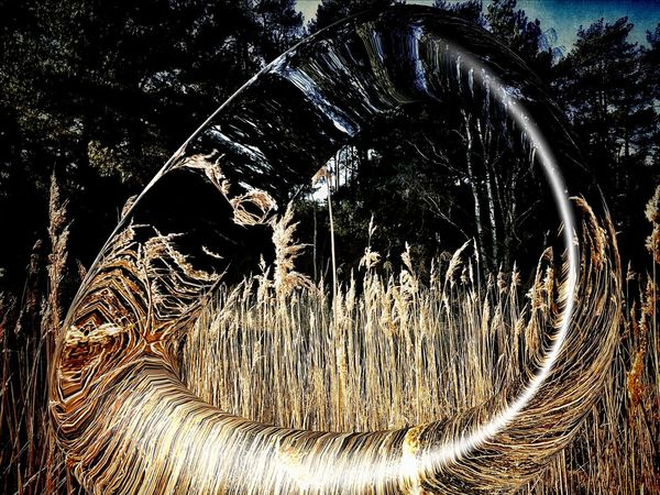 Glass Art Impressionism Warped Perspective Surrealism Textures And Surfaces Illusion Reflection_collection Mindgames 2015  April