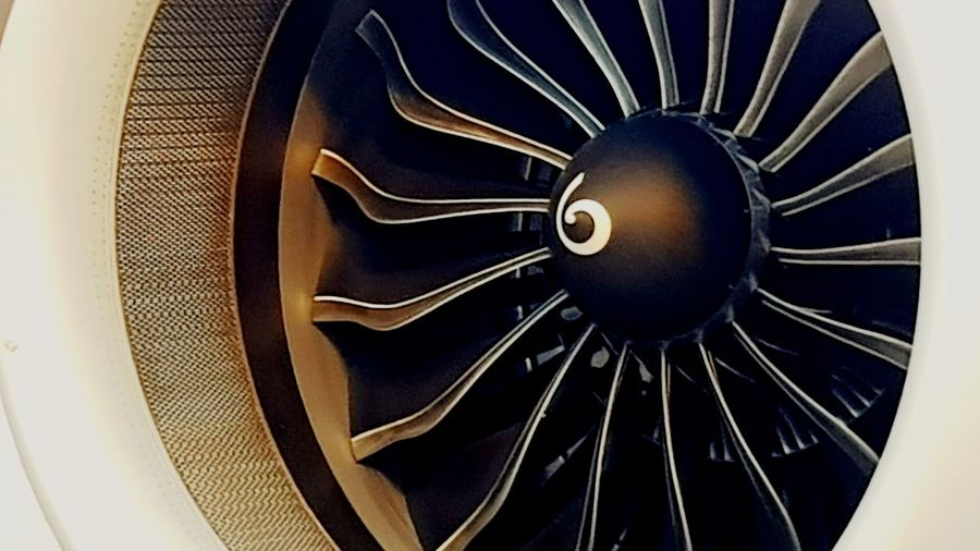 Engine idle Airplane Engine Turbofan EyeEmNewHere Turboprop Airbus A320 AirbusA320 Engine Airplane Black Power Technology Old-fashioned Close-up Spiral Spiral Staircase Gear Jet Engine Airplane Mechanic