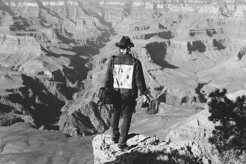 Arizona Contrast And Lights Grand Canyon Landscape_Collection Lost In The Landscape Shadows & Lights Vintage Style Black And White Black And White Collection  Black And White Friday Blackandwhite Contrast Empowerment  Geology Hiking Lostplaces Outdoors Powerful Profound Retro Styled Rock - Object Rock Formation Shadows South Rim Vintage