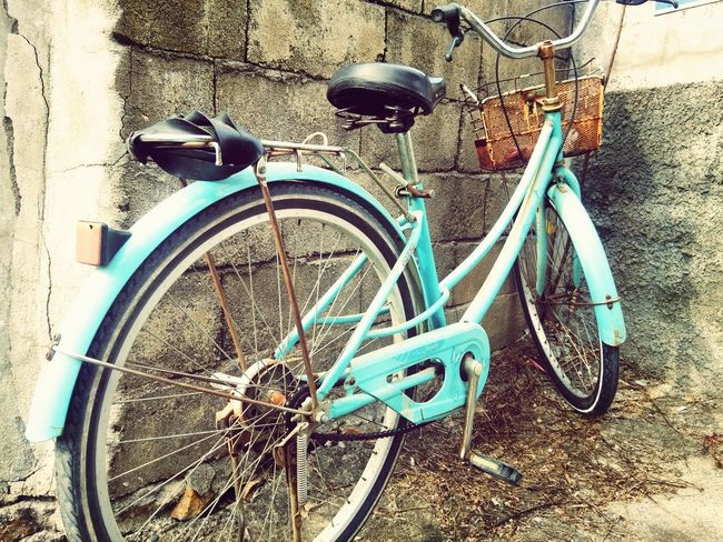 """old abandoned bike but with a brilliant blue coat. """"my life through a camera"""" Vintage OldbikesneedLovetoo Old Abandoned"""