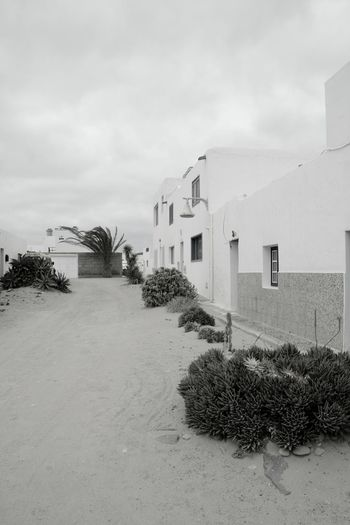 Architecture Nature No People Built Structure Building Exterior Arena Lanzarote Canarias La Graciosa