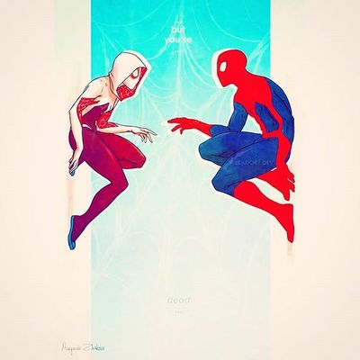 💘💋❤ Spiderman Spidergirl F4F Followme @dkaeghn2275 💘💋❤