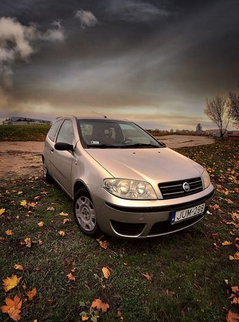 Punto... Car Land Vehicle Sky Transportation Cloud - Sky No People Outdoors Nature Day