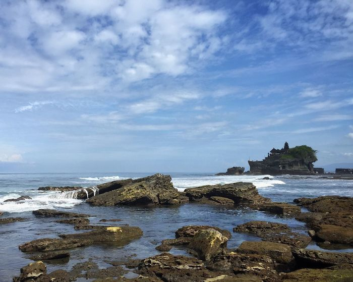 Tanah Lot Temple Tanah Lot Bali, Indonesia Bali Travel Seascape Nature Shoreline At The Beach Showcase April The KIOMI Collection