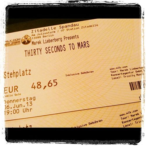 #freu #30stm 30secondstomars #love #berlin #happy Berlin Happy Love 30stm Freu