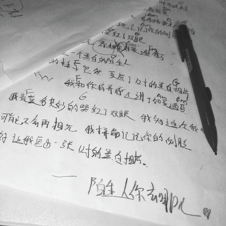 Handwriting  Indoors  No People Formula Day Close-up