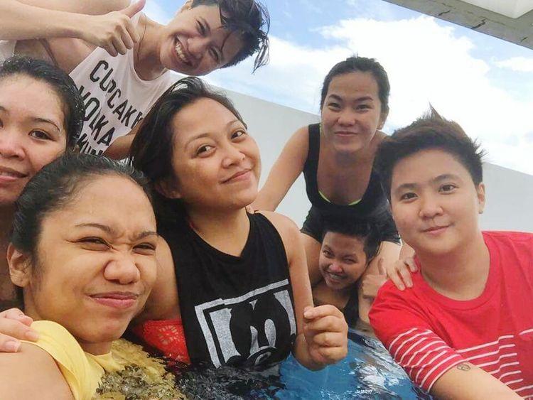 THESE Are My Friends Manila, Philippines TeamNoSleep Happiness ♡ Friendsforlife