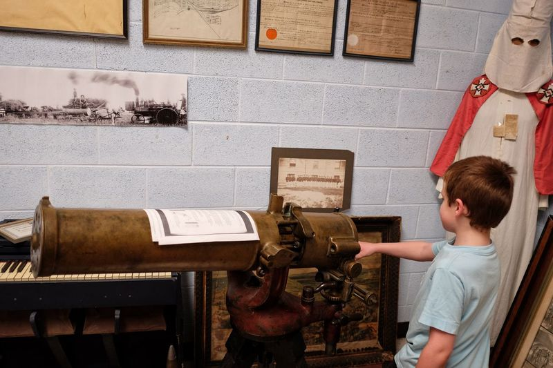 Fairbury city museum Fairbury, Nebraska American History Civil War History Gun History History Museum  Innocence Machine Gun Museum Naqoyqatsi Weaponsofwar BRUTAL TRUTH