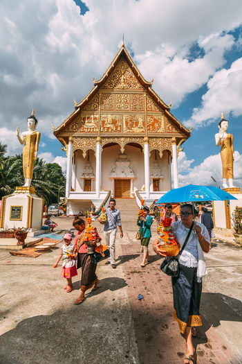 Showcase: January Pha That Luang - Vientiane, Laos Journey Good Times Street Photography