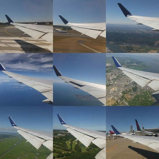 Takeoff-landing PDX-NRT Portland PDX Airport NARITAAIRPORT Nrt Airplane Sky Delta Airlines