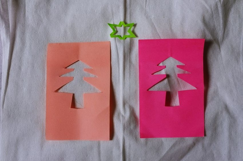 Celebration Christmas Close-up Communication Day Indoors  No People Red Star Snow White Background Ideas Tree Illuminated Pink Color Decoration Note Papers Christmas Tree Metaphor Symbol Simplicity Greeting Card  Casuarina Background Paper Note