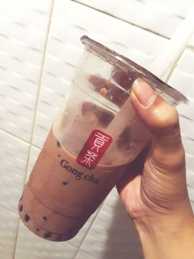 Gong cha chocolate milktea❣ Milktea Gong Cha First Eyeem Photo EyeEmNewHere