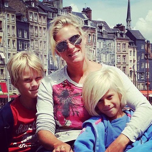 Imorgen kommer disse tilbake fra ferie i Norge :) Myfamily Motherandsons Family Proud summer2014