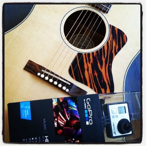 A match made in heaven. Gopro became part of this guitar adventure as well and will help me capture my progress like a pro. ;-) • TstGuitar with @gibsonguitar • TstVideos with @gopro • Gibson Travel SocialTravel