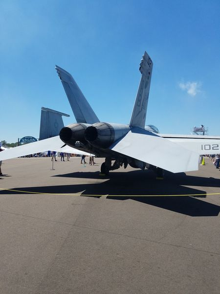 Airplane Air Vehicle Military Aerospace Industry Outdoors Military Airplane Technology Fighter Plane Day Airshow Air Force No People Sky Airport Runway Drone