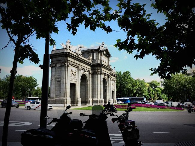 #madrid Architecture Building Exterior History The Past Architectural Column Travel