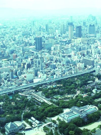 Osaka,Japan View From Above Harukas 300 View Through The Window Japan Photography City View  City View From Above