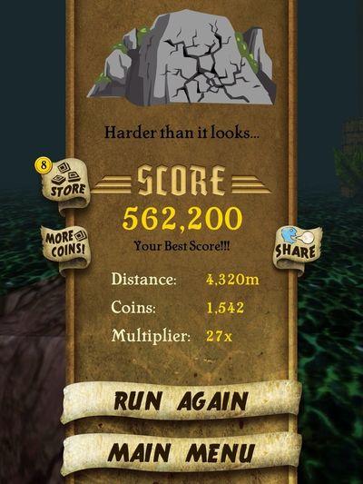 My highest score