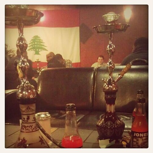At The Hookah Bar The Other Day...