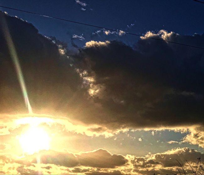 Sunset. Cloud - Sky Nature Beauty In Nature Outdoors Sunlight Scenics No People Sunset Day Contrail Cloudscape Sunset Silhouettes Sunset_collection Dramatic Sunset This Week On Eyeem EyeEmNewHere Popular EyeEm Masterclass EyeEm Team EyeEm Gallery EyeEm Best Shots EyeEmBestPics Eyeem Photography Backgrounds