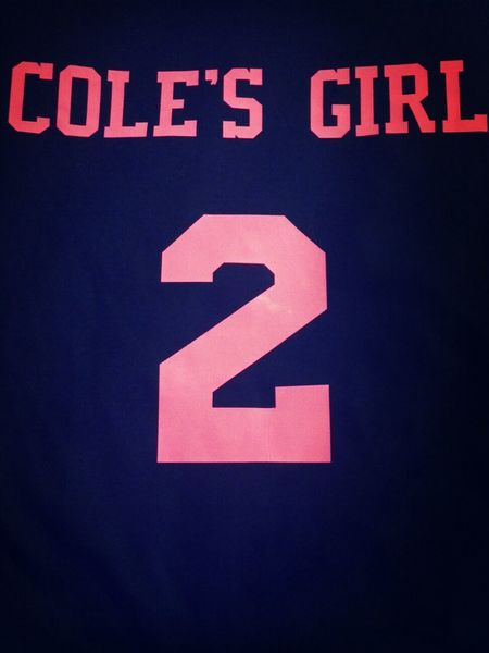 I really like my new soccer shirt! :) Supportinghim Proudgirlfriend Hesmynumber1 PinkOut #breastcancer #awareness