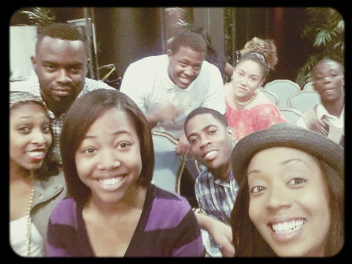 ...we all here!! TheEncounter WorshipInTheNow come thru! ;)