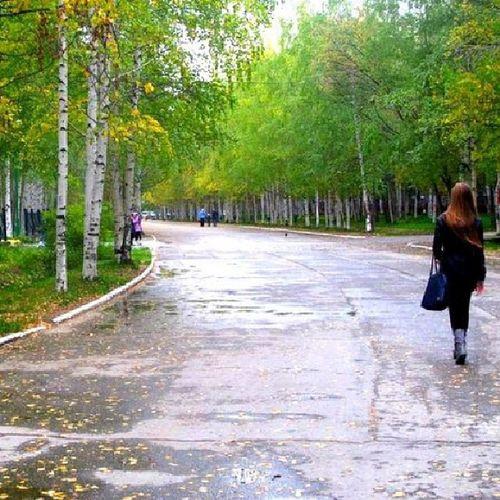 Park Autumn Nature Handsomely girl photo me good followme like new