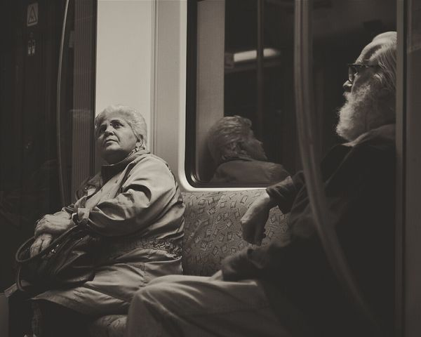 Time goes by so fast... Notes From The Underground _loneliness_ People Photography RePicture Ageing The Human Condition