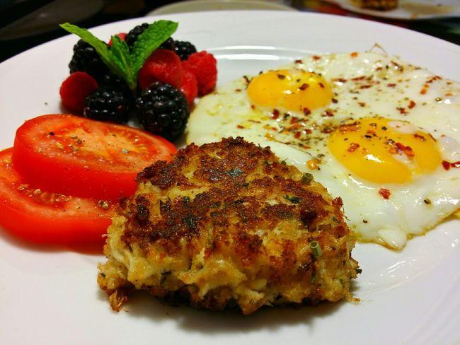 Breakfast! Ddcatering Enjoying A Meal Eggs