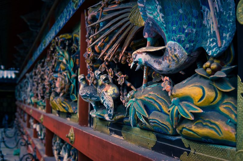 Statue Multi Colored Sculpture No People Dragon Travel Destinations Indoors  Day Close-up