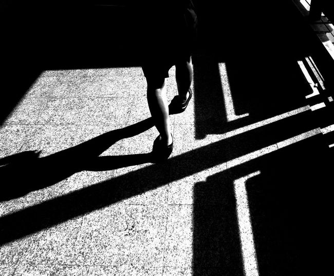 Streetphotography Shadow Focus On Shadow Sunlight Silhouette One Person Real People Day People Outdoors
