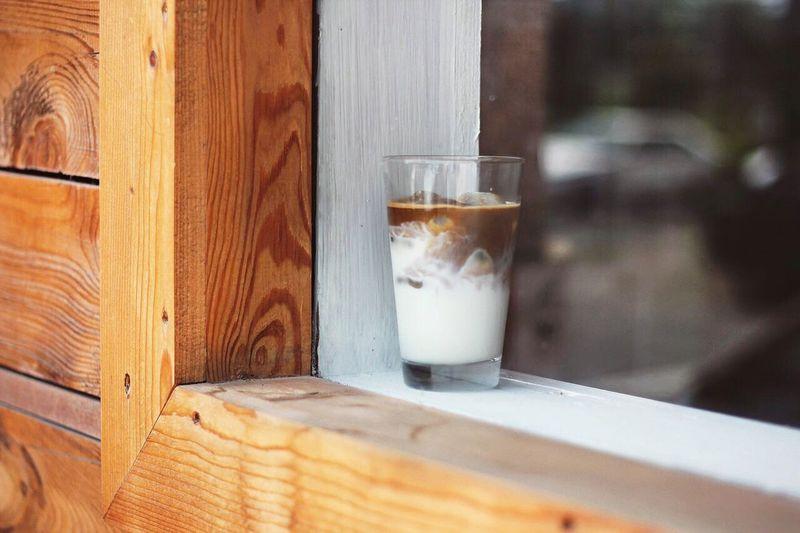 Konjcafe Latte Icelatte Coffee Cafe Milk