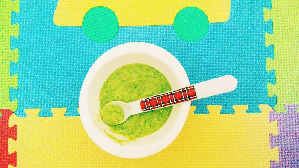 Babyfood Homemade Food Playmat Colorfull Mobilephotography TakeoverContrast Porridge