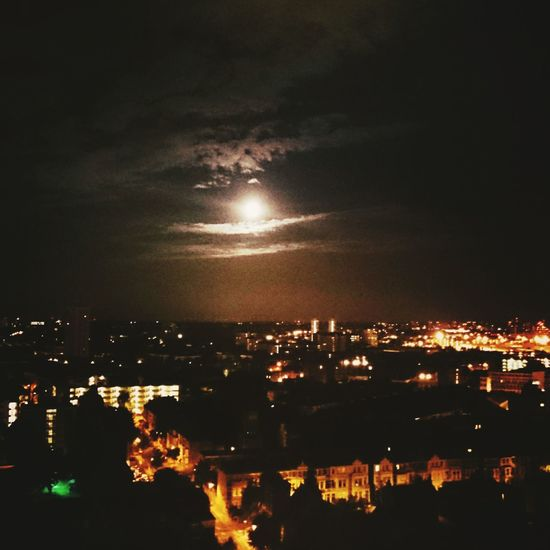 Moonlight Moon Panoramic Photography Eye4photography  London Nightphotography Cities At Night