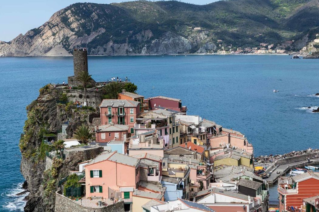 5 Terre Architecture Building Exterior Built Structure Cityscape Cliff Day Fisherman Village High Angle View Horizon Over Water Italia Mediterranean  Mountain Nature No People Outdoors Scenics Sea Sky Tourism Town Travel Destination Travel Destinations Water Whitewashed