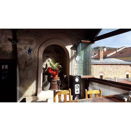 Hava güzel kuşlar uçuyor 😊💜💋👍 PembeHan Fresh StyleoftheOttoman History cafe Turkey Kastamonu noedit noeffect nofilter
