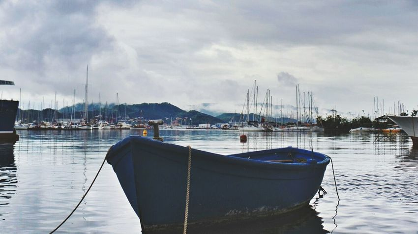 La Spezia: paikura© ITALY Cloud_collection  AMPt_community Eye4photography  EyeEm Best Shots Europe Italy River View Boats On The Way