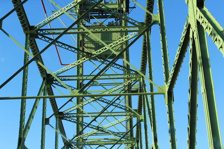 Bridge View Built Structure Engineering Interstate Views Low Angle View Metal Roadtrip