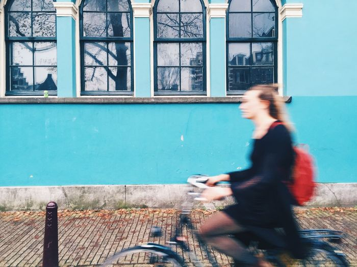 Amsterdam Street Amsterdam VSCO EyeEmBestPics EyeEm Best Shots EyeEmNewHere EyeEm One Person Architecture Real People Built Structure Women Building Exterior The Street Photographer - 2018 EyeEm Awards Lifestyles Adult Side View Building City Leisure Activity